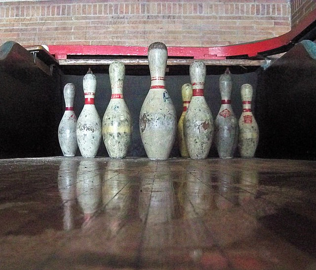 Abandoned Pennsylvania: They traded their rights as workers in to get some bowling pins! {EXPLORE}