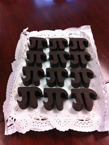 Maths chocolate
