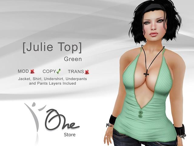 [Julie Top] Green