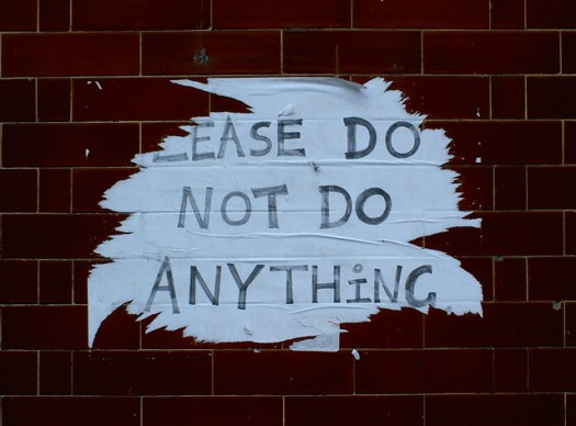 please do not do anything