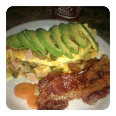 An omelete fit for my king :)