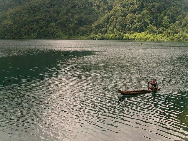 Lake Holon: T'boli Wooden Boat