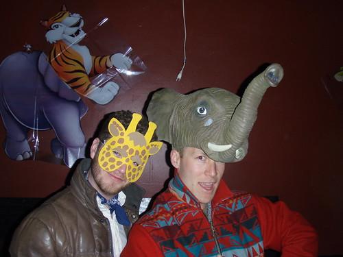 Elephant & Giraffe