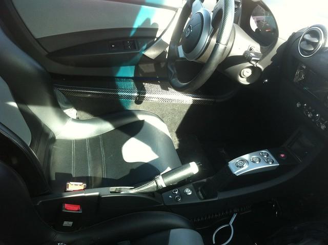 Telsa Roadster - interior