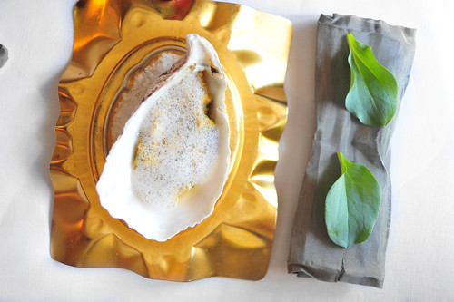 20th Course: Oyster and Bone Marrow Tartar