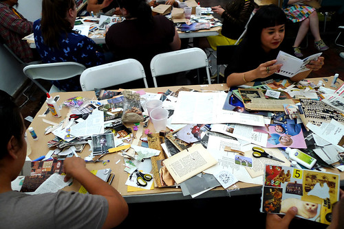 zine workshop #1 @ the pop hop!