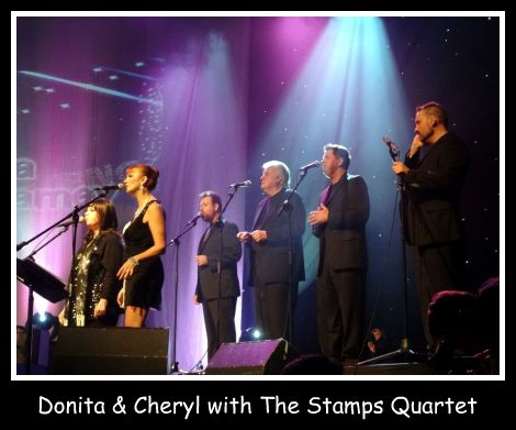 Donita & Cheryl Backed By Quartet