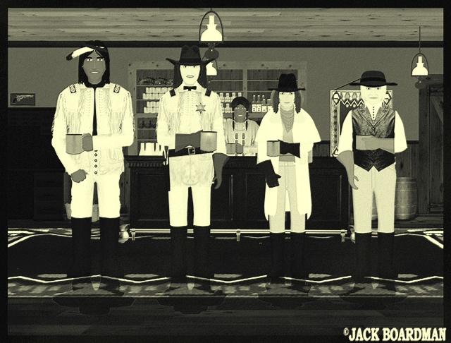 James Silverthorn told Marshal Blackmon of Mac's request ©2012 Jack Boardman