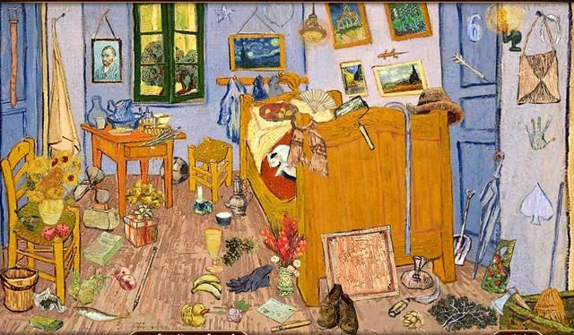 bedroom in arles / van gogh - igot game
