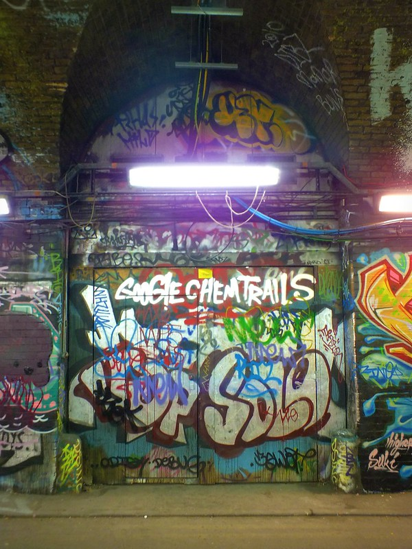 Leake Street, London graffiti