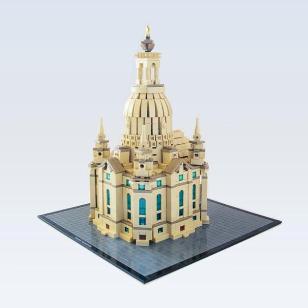 Frauenkirche Dresden - Architecture Scale
