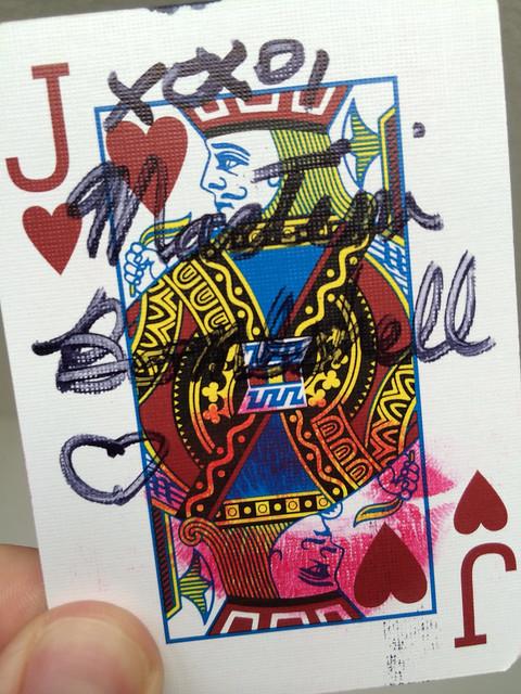 The Joker (Martini Bombshell) threw this!