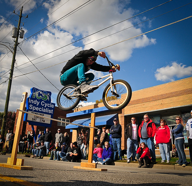 Indy Cycle Specialist Bunny Hop Contest
