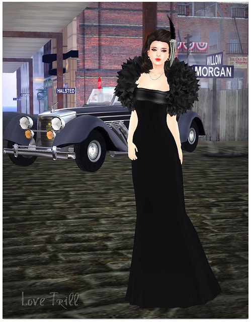 Fabulously Free in SL - Vintage Black Widow, By Love Trill
