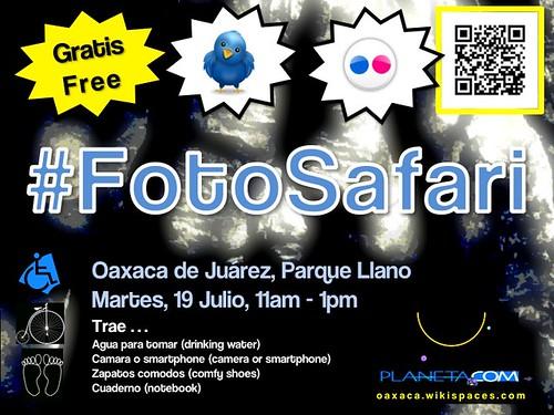 Tuesday Photo Safari (FotoSafari) @ Oaxaca 07.2011