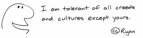 Selective tolerance