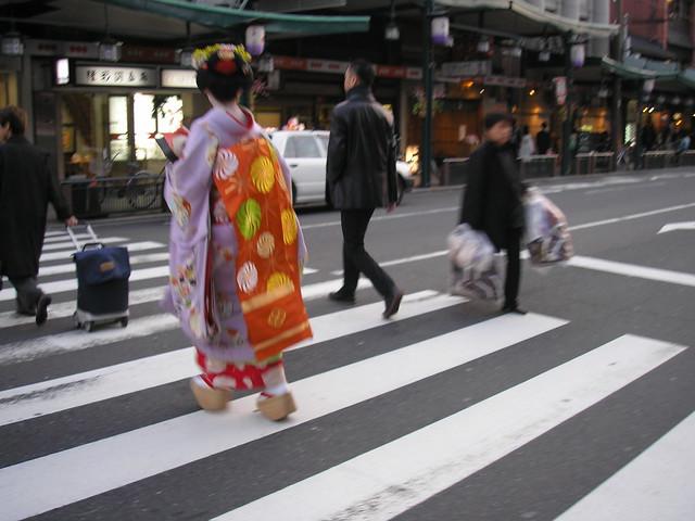 Maiko in Kyoto, 2006