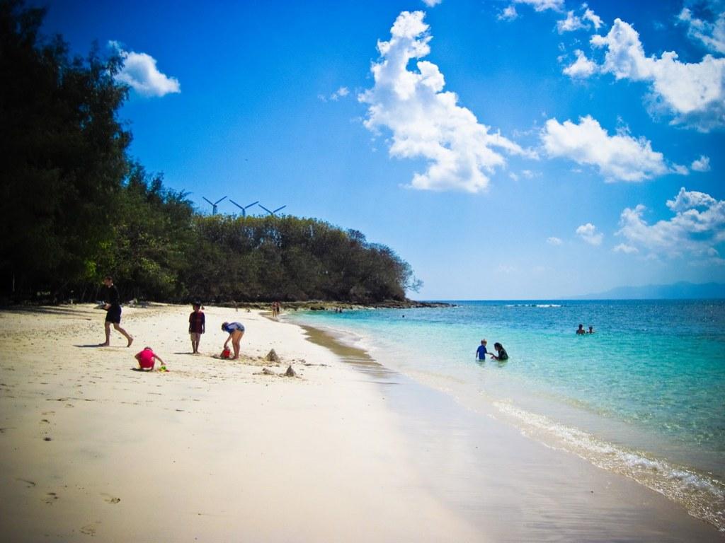Beach in Gili Nanggu, Lombok, Indonesia