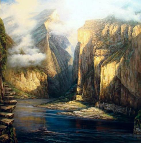 Chongqing exposición cuadros 10