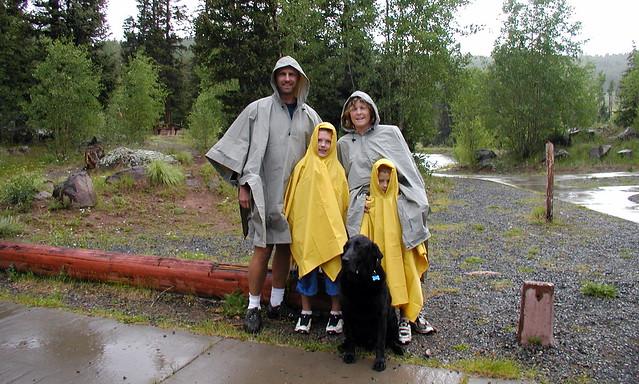 Rainy Hike at Deer Lakes, CO