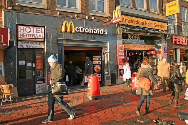 McDonald's Amsterdam Damrak 8 (Netherlands)