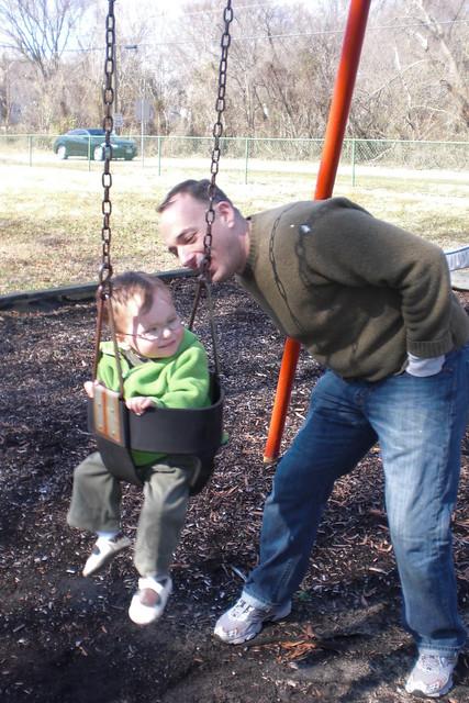 Swinging with Dada