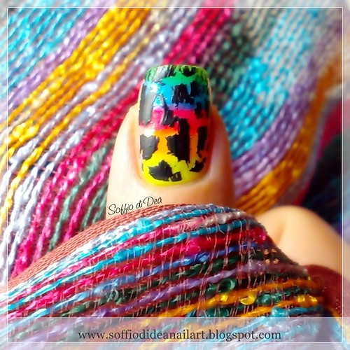 """Graffiti"" Nail Art"