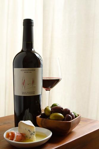 Red Wine Setup