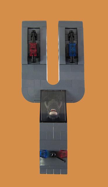MOC-032 LEGO Y Spaceship