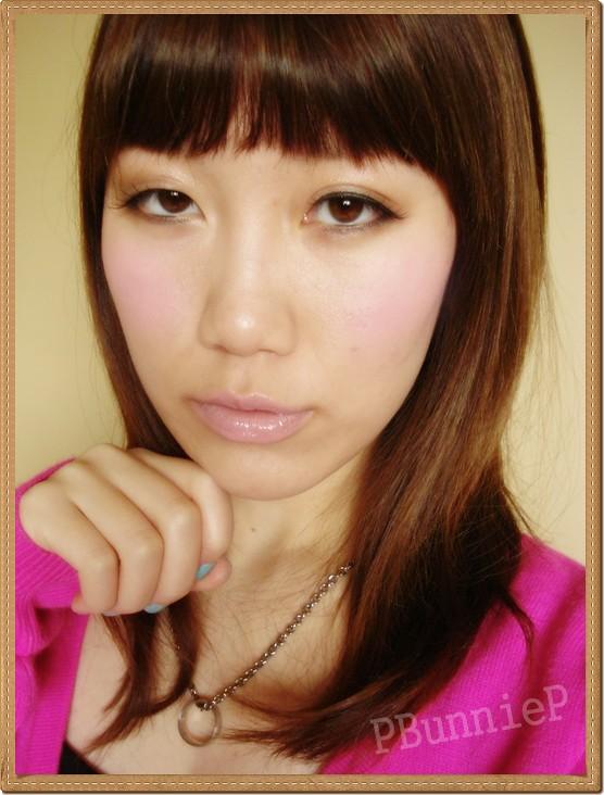 Candydoll blush FOTD