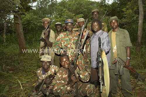 Lord's Resistance Army (LRA) soldiers