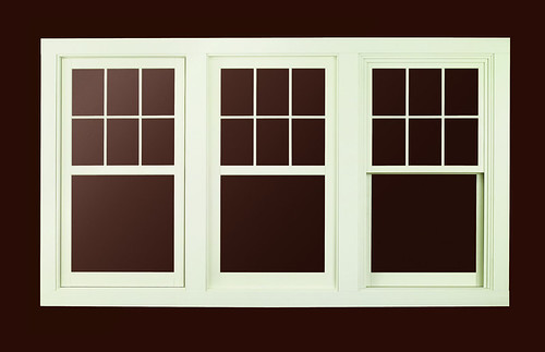 A Series Casement Window With Exterior Trim A Series