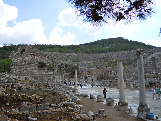 Ancient Ephesus Theater