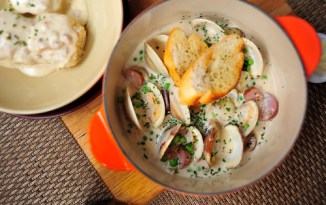 Dave's Wood-Fired Clams