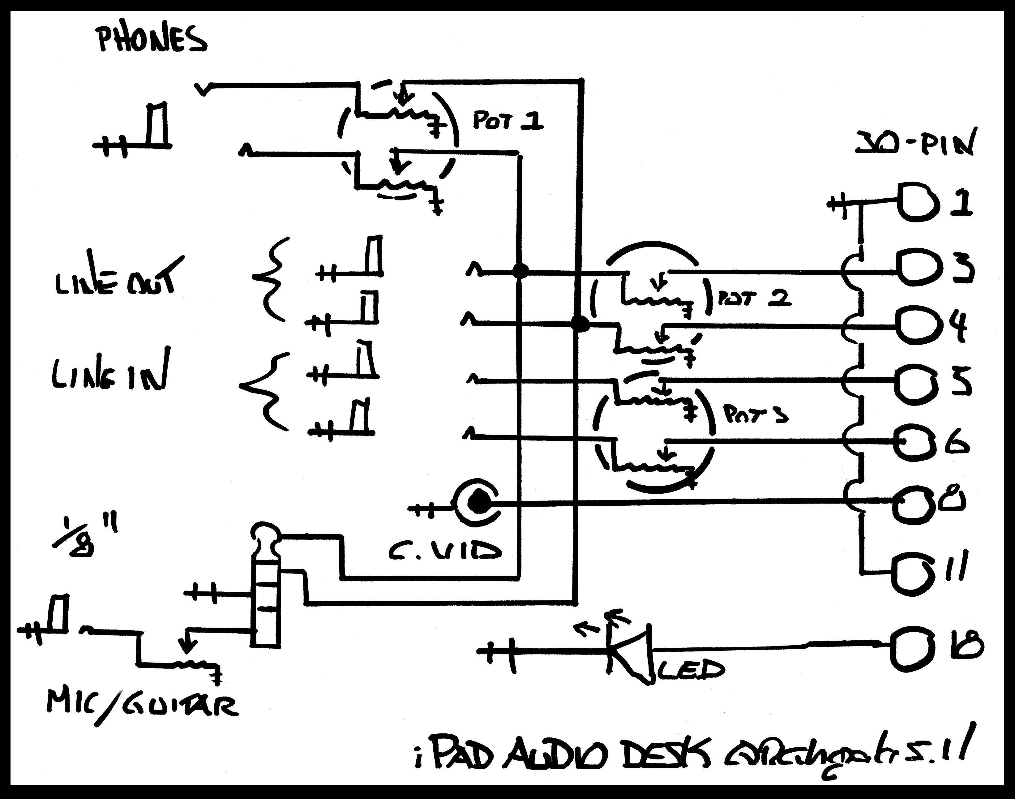 Ipad Audio Desk Schematic Flickr
