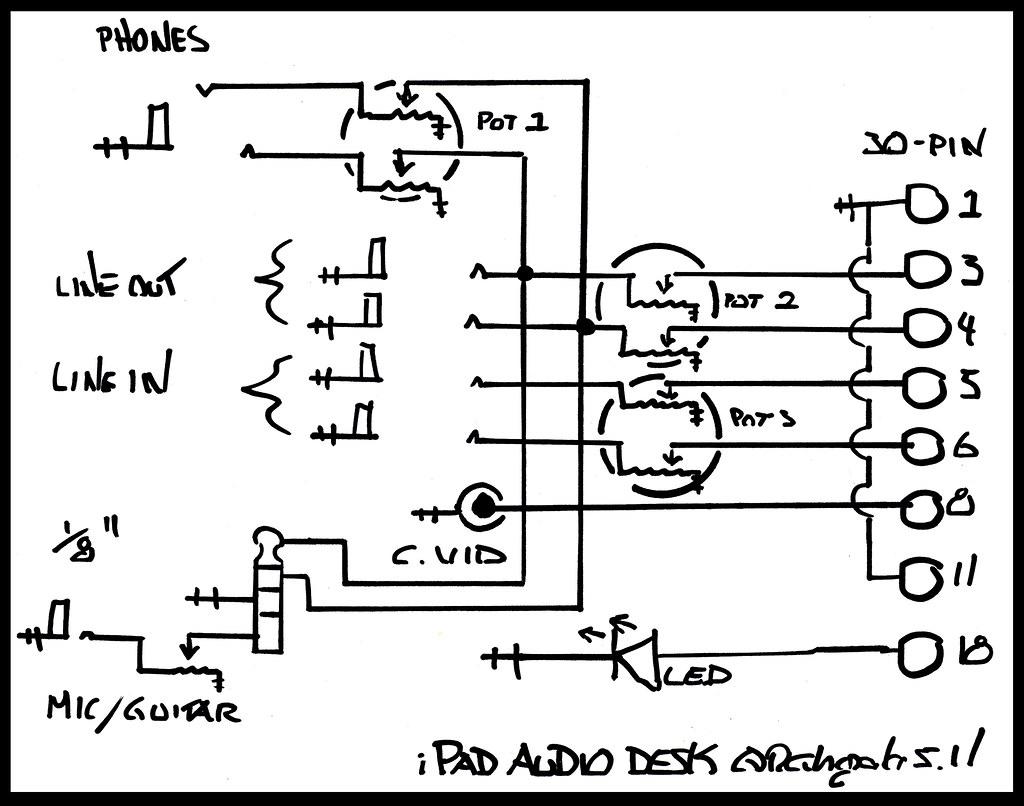 Ipad Audio Desk Schematic Flickr