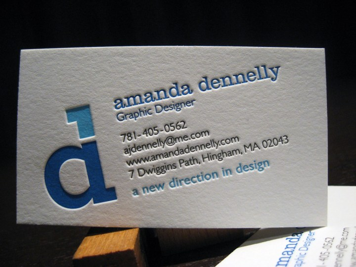 Amanda Dennelly Business Cards