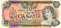 Scenes Series $20 – front / Billet de 20 $ de la série Scènes – recto