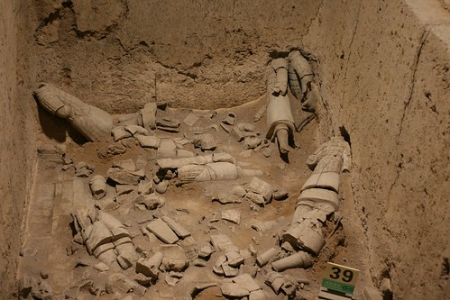 Buried soldiers