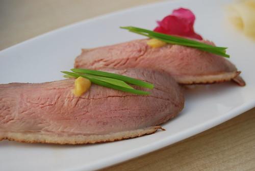 Simmered Duck Nigiri