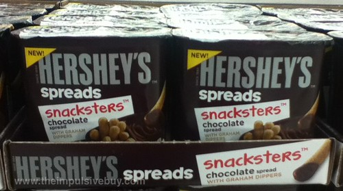 Hershey's Spreads Snackers