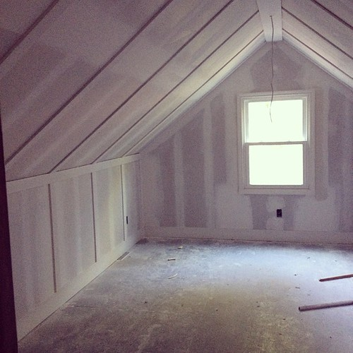 No, you're the finished bonus room of the #34stproject. No, you are. No, you. #OMG