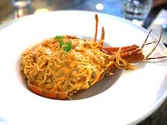 Juvenile lobster pasta, Cornerstone Restaurant, Bishan Park 2