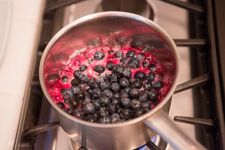 BlueBerry Breakfast Bars - filling
