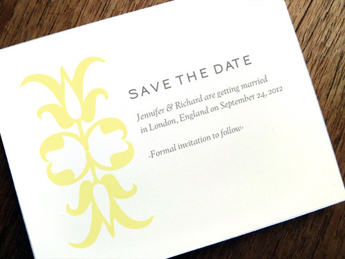 Printable Save-the-Date - Ornament