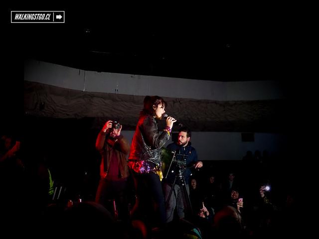 Sky Ferreira en Teatro La Cúpula 14 junio 2014 en Santiago