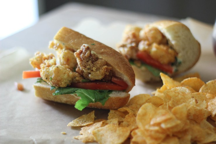 Oyster and Shrimp Po Boy 6 (1 of 1)