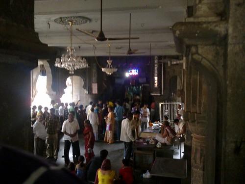 Inside Bhimashankar Temple