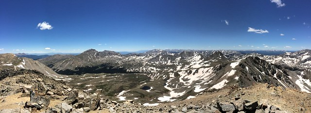 Picture from Mt. Belford and Mt. Oxford