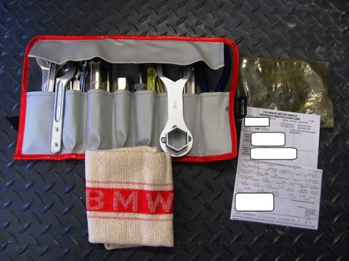 New Tool Kit and Shop Rag-Registration & Insurance